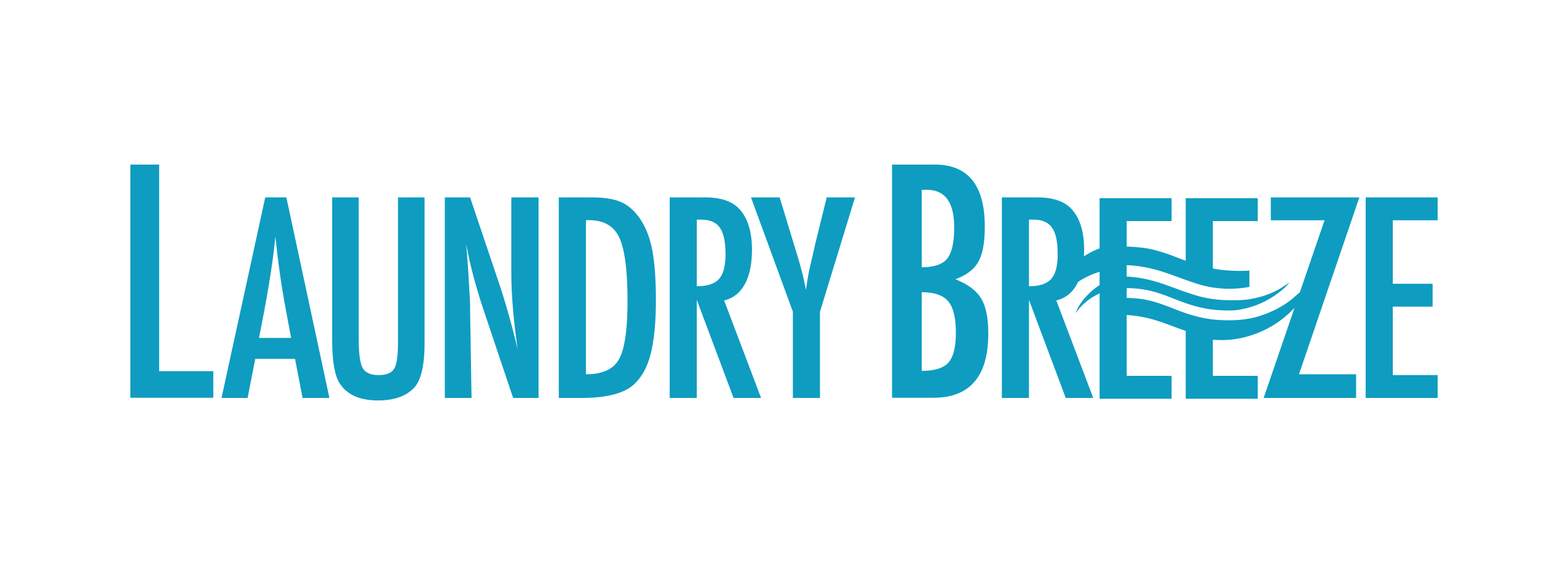 Laundry Breeze - Horizontal - Logo